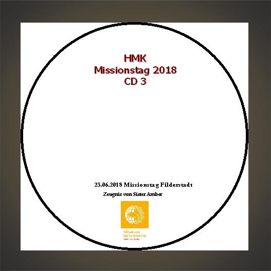 CD - HMK Missionstag 2018 Teil 3