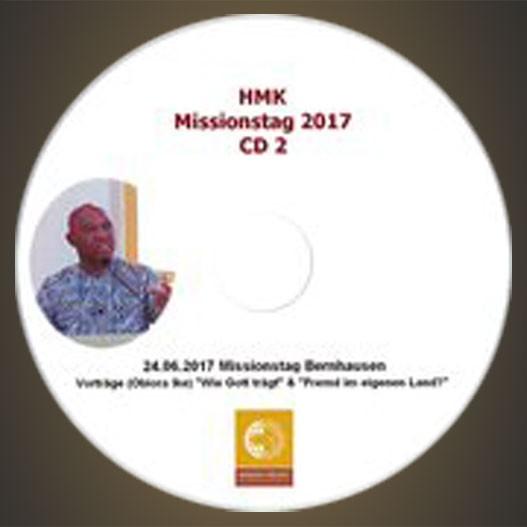 CD - HMK Missionstag 2017 Teil 2
