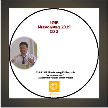 CD - HMK Missionstag 2019 Teil 2